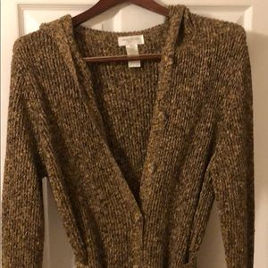 Jones New York long knit sweater
